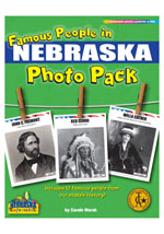 Famous People from Nebraska Photo Pack