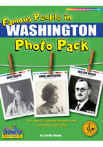 Famous People from Washington Photo Pack