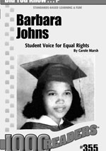 Barbara Johns: Student Voice for Equal Education Consumable Pack 30
