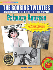 The Roaring Twenties (American Culture in the 1920s) Primary Sources Pack