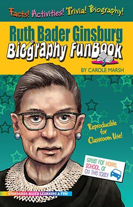 Ruth Bader Ginsburg Biography FunBook