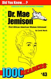 Dr. Mae Jemison: First African American Woman Astronaut