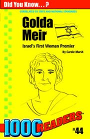 Golda Meir: Israel's First Woman Premier