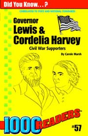 Governor Lewis and Cordelia Harvey: Civil War Supporters