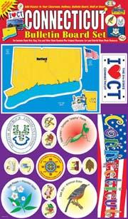 Connecticut Bulletin Board Set