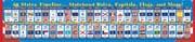 Our BIG Cool USA 50 States BIG Wall Timeline