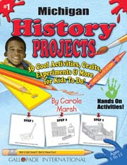 Michigan History Projects - 30 Cool Activities, Crafts, Experiments & More for Kids to Do to Learn About Your State!