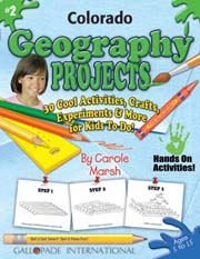 Colorado Geography Projects - 30 Cool Activities, Crafts, Experiments & More for Kids to Do to Learn About Your State!