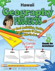 Hawaii Geography Projects - 30 Cool Activities, Crafts, Experiments & More for Kids to Do to Learn About Your State!