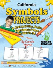 California Symbols Projects - 30 Cool Activities, Crafts, Experiments & More for Kids to Do to Learn About Your State!