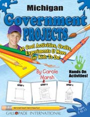 Michigan Government Projects - 30 Cool Activities, Crafts, Experiments & More for Kids to Do to Learn About Your State!