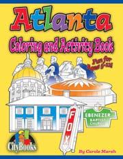 Atlanta Coloring & Activity Book
