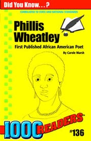 Phillis Wheatley: First Published African American Poet