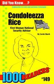 Condoleezza Rice: First Woman National Security Advisor