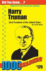 Harry Truman: 33rd President of the United States