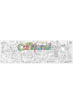 California Giant Coloring Poster (includes crayons!)