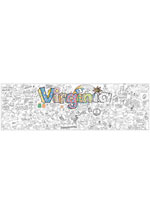 Virginia Giant Coloring Poster (includes crayons!)
