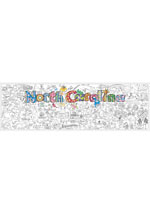 North Carolina Giant Coloring Poster(includes crayons!)