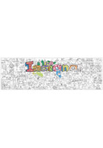 Indiana Giant Coloring Poster (includes crayons!)