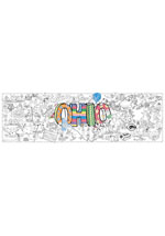 Ohio Giant Coloring Poster (includes crayons!)