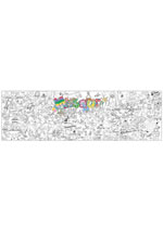 Louisiana Giant Coloring Poster(includes crayons!)