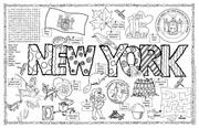 New York Symbols & Facts FunSheet – Pack of 30
