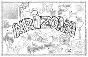 Arizona Symbols & Facts FunSheet – Pack of 30