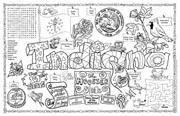 Indiana Symbols & Facts FunSheet – Pack of 30