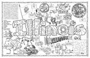 Illinois Symbols & Facts FunSheet – Pack of 30
