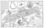 Pennsylvania Symbols & Facts FunSheet – Pack of 30