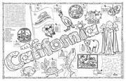 California Symbols & Facts FunSheet – Pack of 30