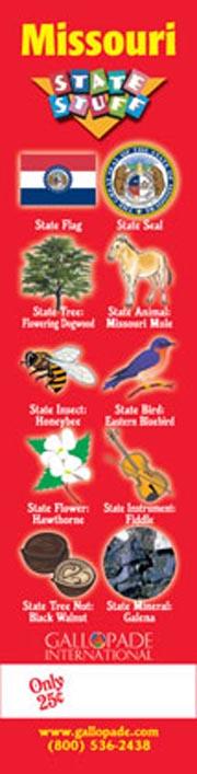 Missouri Symbols Bookmark