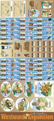 Westward Expansion - Go West, Young Man! Bulletin Boards with Borders