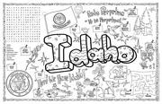 Idaho Symbols & Facts FunSheet – Pack of 30