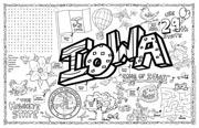 Iowa Symbols & Facts FunSheet – Pack of 30