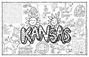 Kansas Symbols & Facts FunSheet – Pack of 30