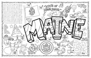 Maine Symbols & Facts FunSheet – Pack of 30