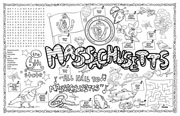 Massachusetts Symbols & Facts FunSheet – Pack of 30
