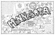 Minnesota Symbols & Facts FunSheet – Pack of 30