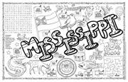 Mississippi Symbols & Facts FunSheet – Pack of 30