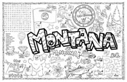 Montana Symbols & Facts FunSheet – Pack of 30