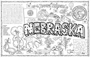 Nebraska Symbols & Facts FunSheet – Pack of 30