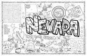 Nevada Symbols & Facts FunSheet – Pack of 30