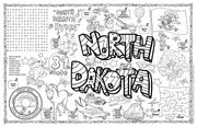 North Dakota Symbols & Facts FunSheet – Pack of 30