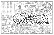 Oregon Symbols & Facts FunSheet – Pack of 30
