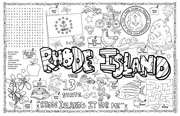 Rhode Island Symbols & Facts FunSheet – Pack of 30
