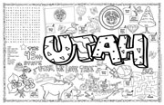 Utah Symbols & Facts FunSheet – Pack of 30