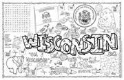 Wisconsin Symbols & Facts FunSheet – Pack of 30