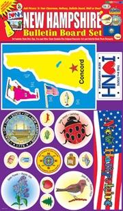 New Hampshire Bulletin Board Set