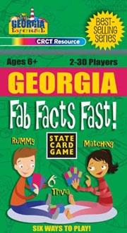 Georgia Fab Facts Fast Card Game